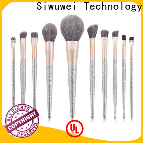 GLEAMUSE Top complete professional makeup brush set Suppliers for women