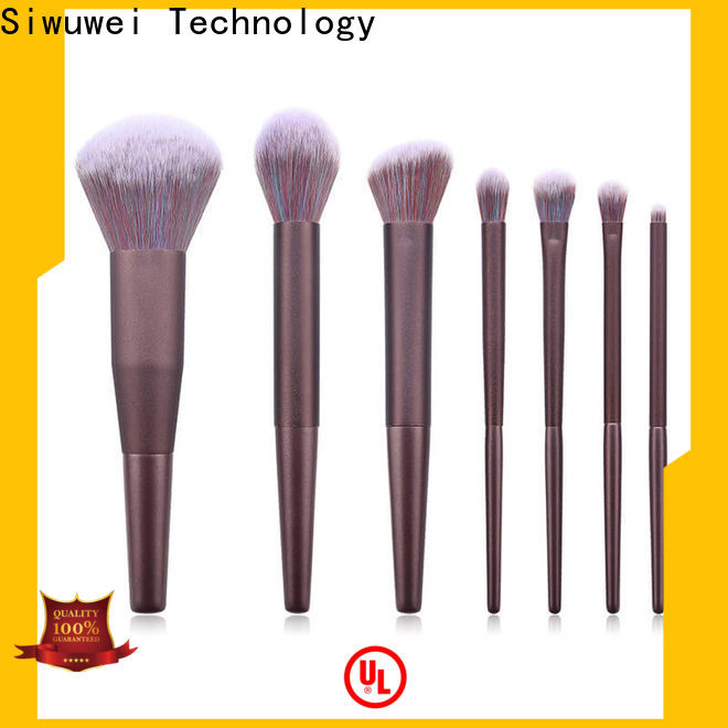 GLEAMUSE oval makeup brush set uk manufacturers used for face painting