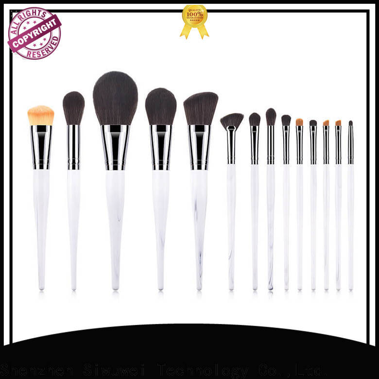 GLEAMUSE Custom big makeup brush set manufacturers for Beauty shop