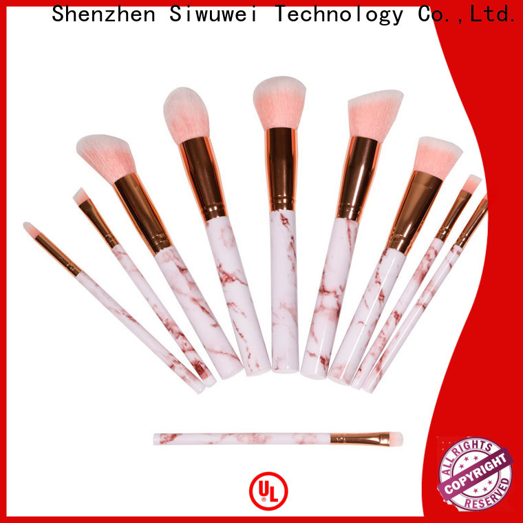 GLEAMUSE top rated makeup brush sets company for makeup artist