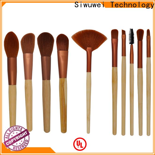GLEAMUSE women's makeup brush set for business used for face painting