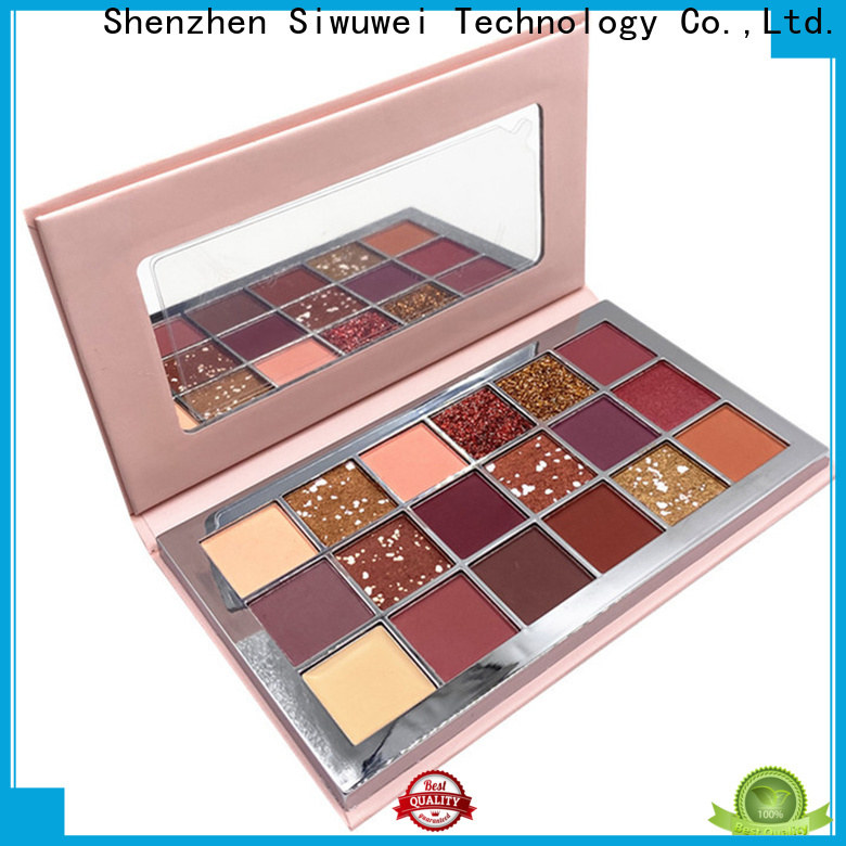 GLEAMUSE rainbow eyeshadow palette Suppliers for makeup