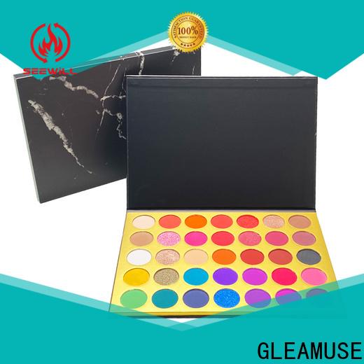 Custom pressed glitter palette for business for women