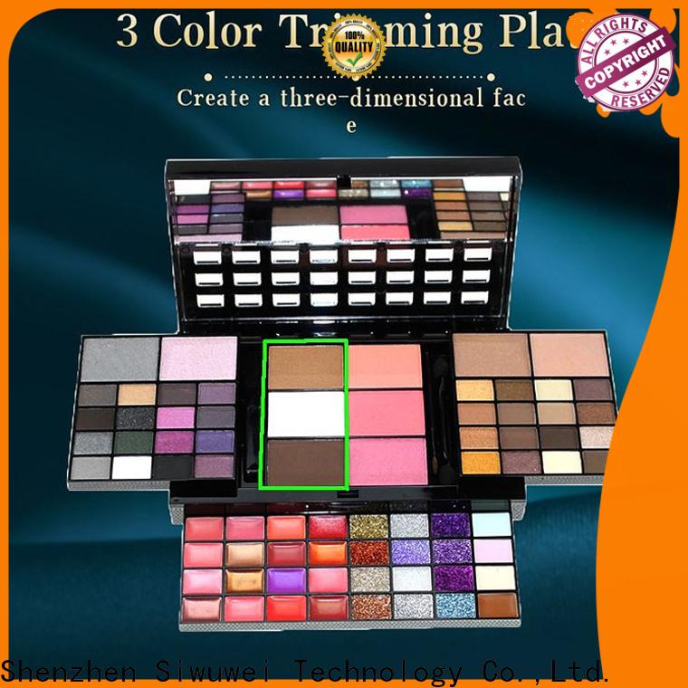 GLEAMUSE empty eyeshadow palette wholesale Supply for women