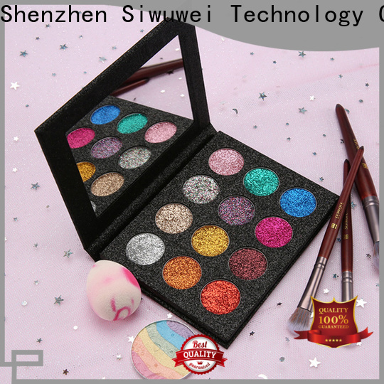 GLEAMUSE pressed glitter palette manufacturers for Beauty shop