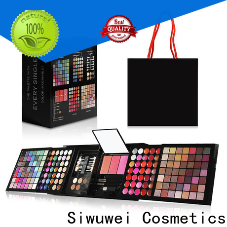 GLEAMUSE Wholesale pigmented eyeshadow palette company for women