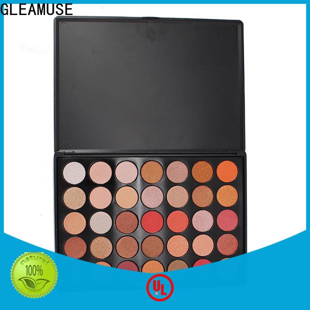 GLEAMUSE rainbow eyeshadow palette bulk buy for women