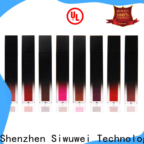 Latest glass lip gloss tubes manufacturers for makeup