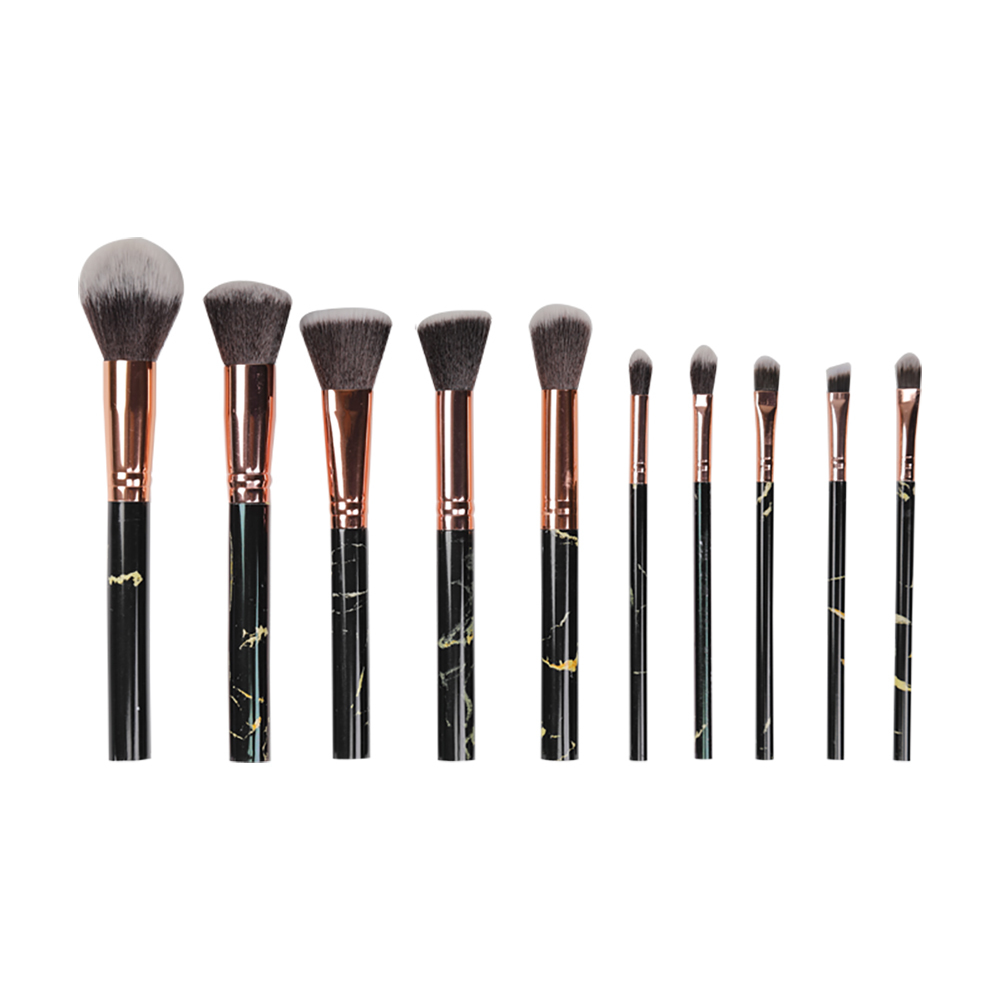 High-End Makeup Brush Set Black Makeup Brushes SW-BK08007