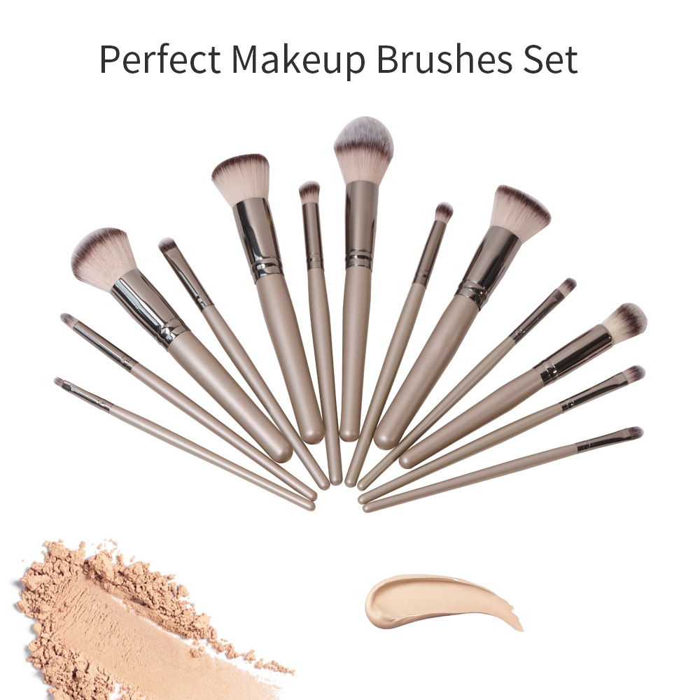 GLEAMUSE Best cheap face brush sets Supply used for face painting-1