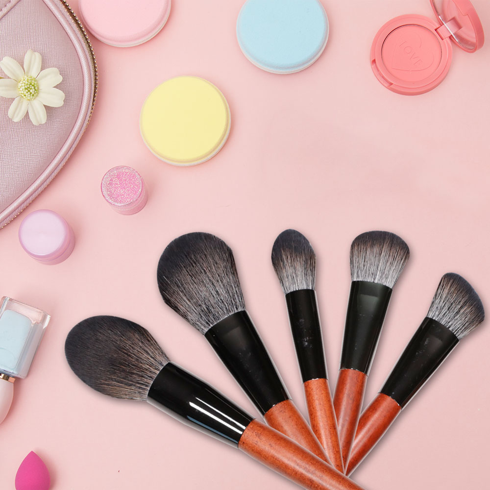 GLEAMUSE vegan makeup brushes for business used for face painting-2