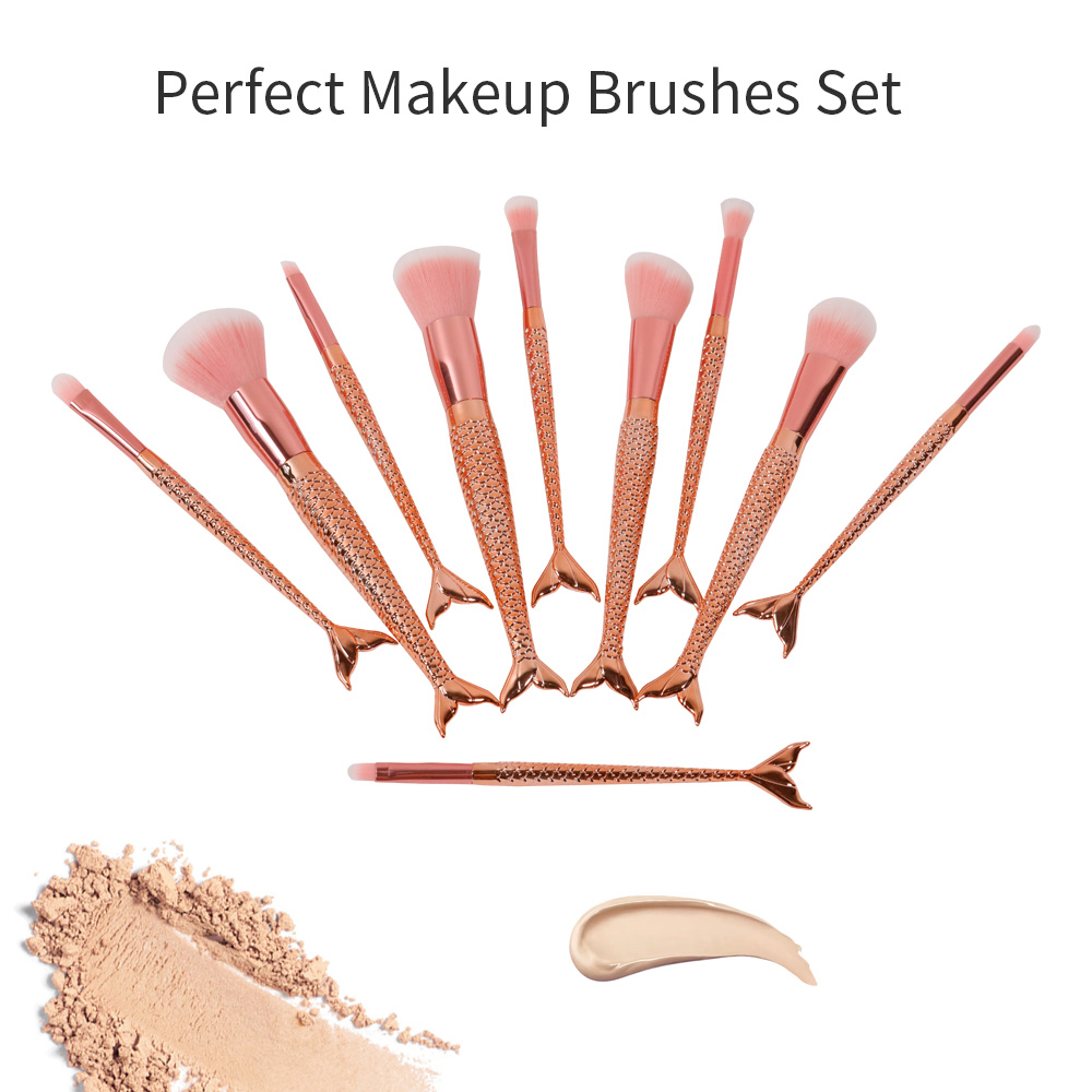GLEAMUSE Best the makeup brush set factory used for face painting-2