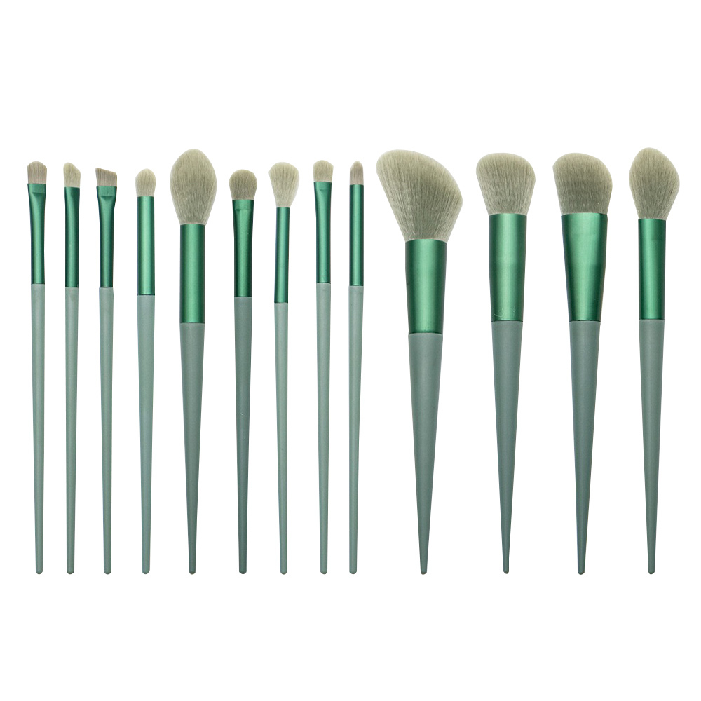Professional bamboo handle cosmetics brushes with good quality