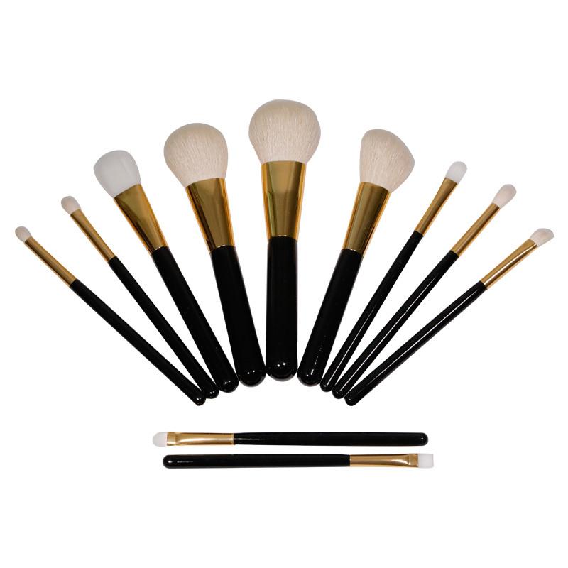 Premium 11 pieces makeup brush set best choice cosmetic tool