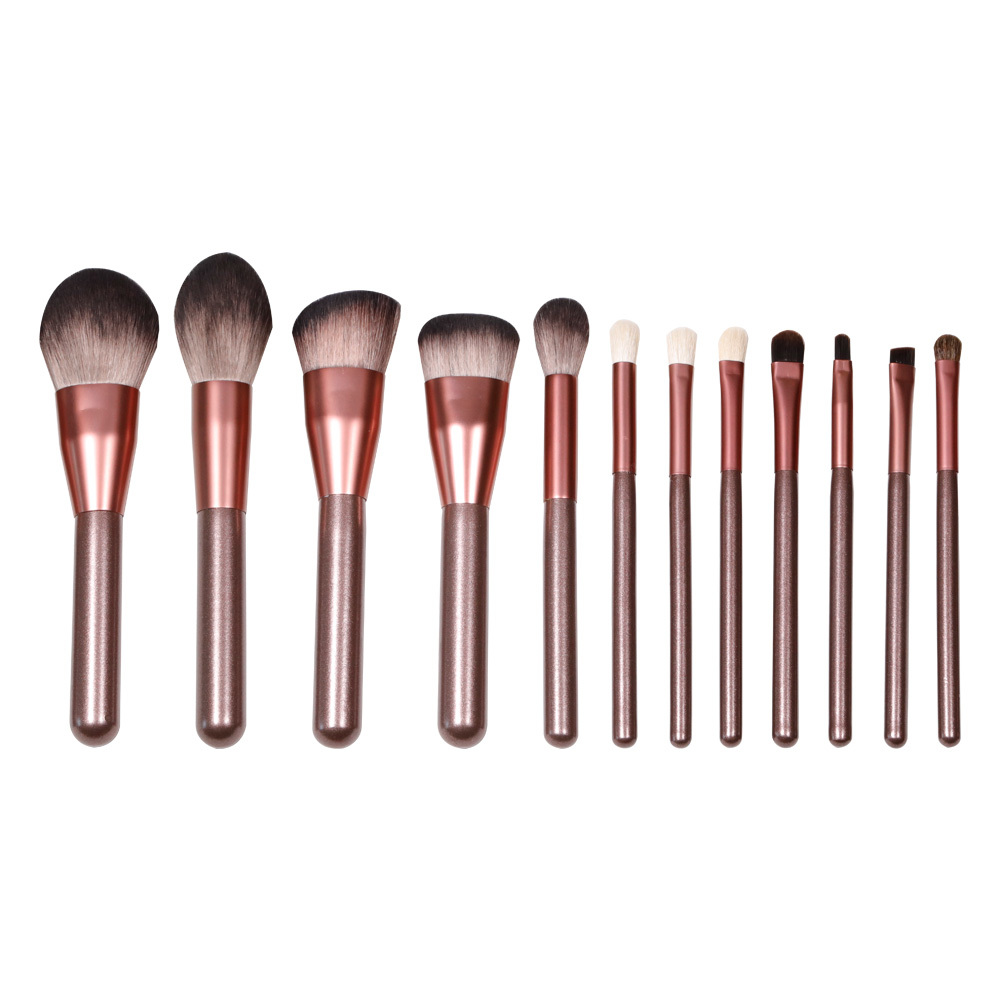 Best quality 12 pieces makeup brush set with reasonable cost