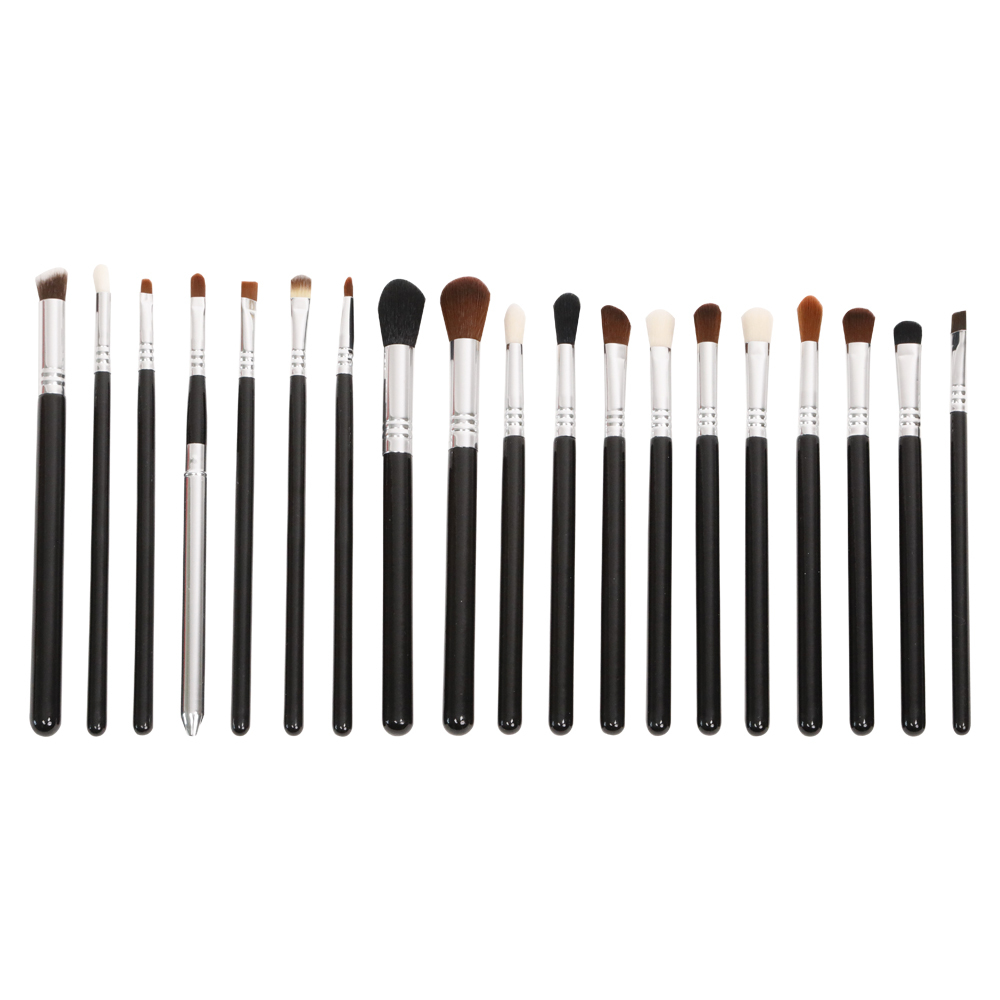 Exquisite 14 pieces makeup brush set with acrylic handle hot sale