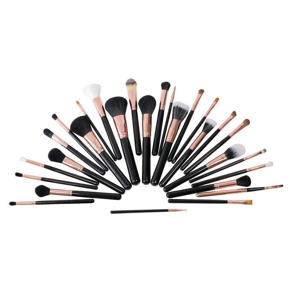 Wholesaleprofessional premium black makeupbrushsetmanufacturer