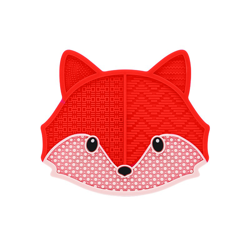 red fox makeup brush cleaning pad