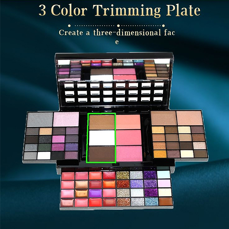 2021 Seewill 12 Colors Eyeshadow Palette With White Cardboard