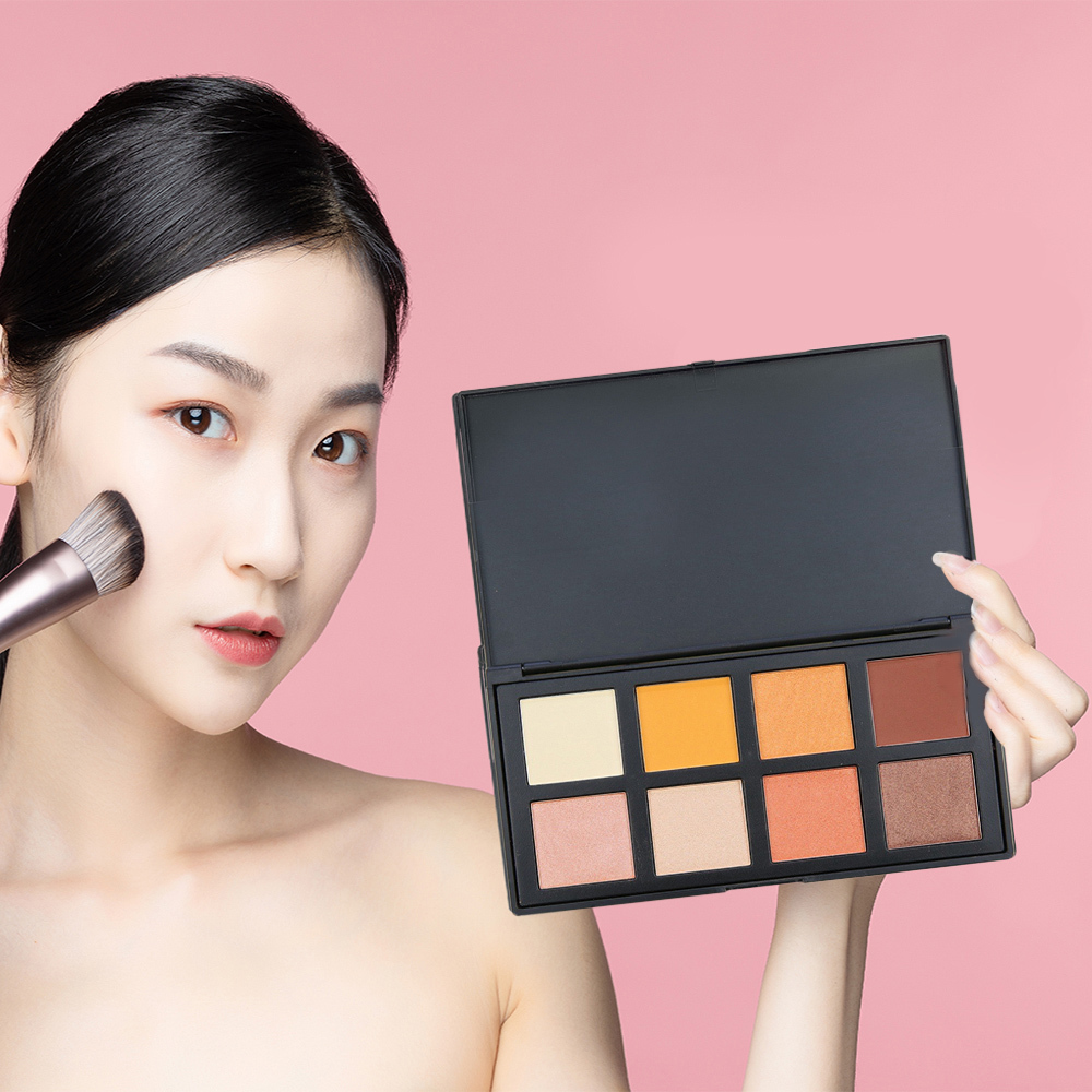Factory direct 8 colors ES107E eyeshadow palette suppliers