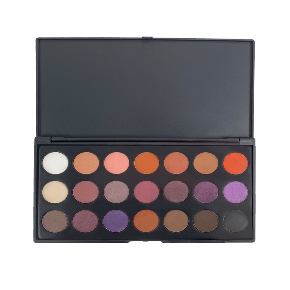 2021 new model high quality personalised eyeshadow palette manufacturer supplier China
