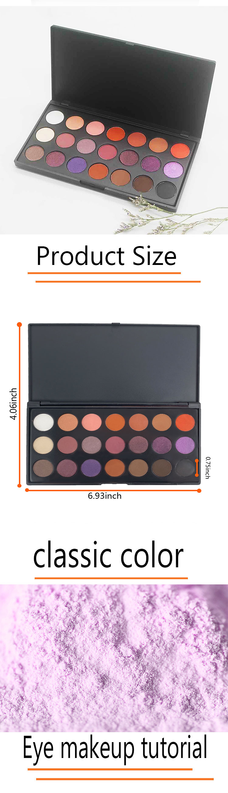 Top cheap eyeshadow palette factory for makeup-2