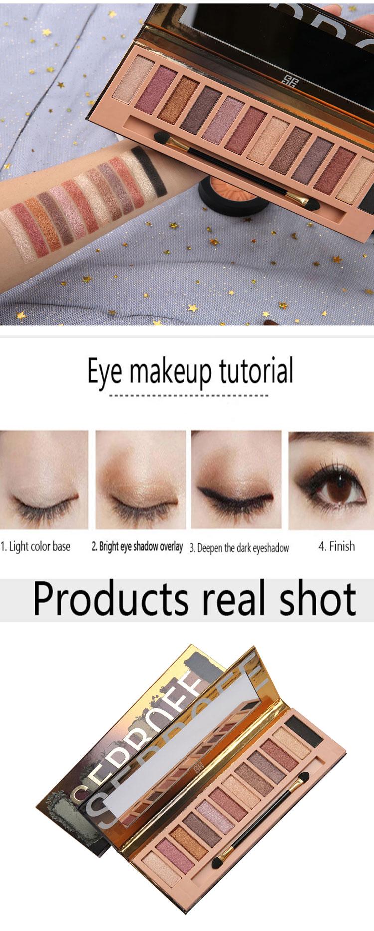 Custom empty eyeshadow palette manufacturer manufacturers for women-2