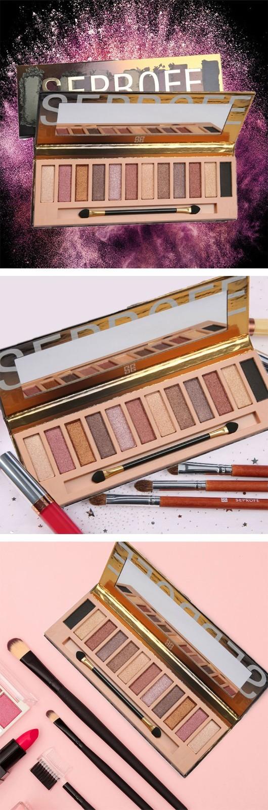 Custom empty eyeshadow palette manufacturer manufacturers for women