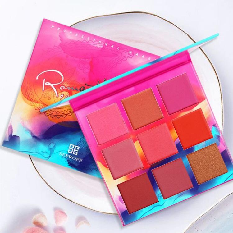 Bulk eyeshadow palettes ES138 9 Colors Cosmetics Waterproof Custom Private Label