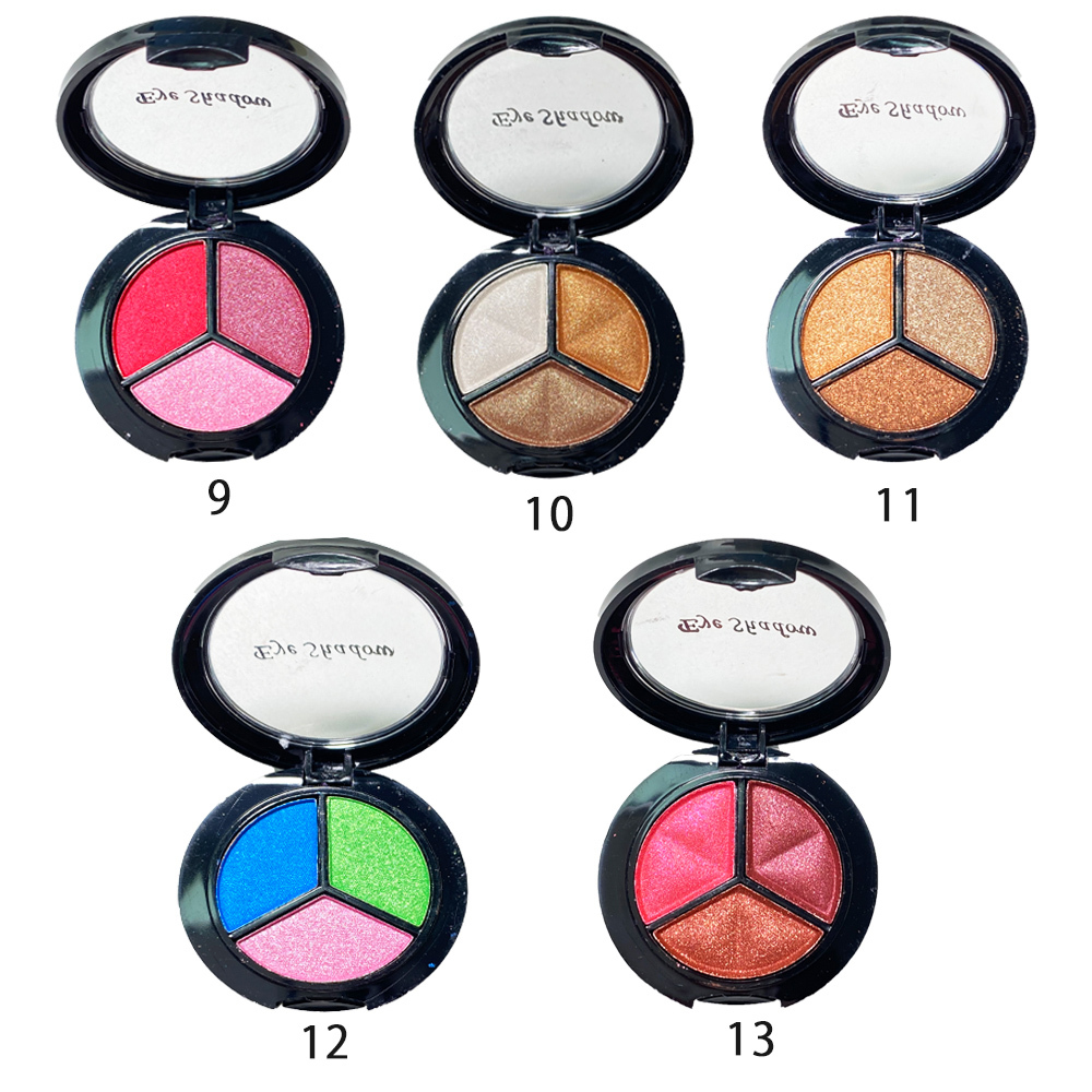 3 SW-03001 colors eyeshadow palette manufacturers china