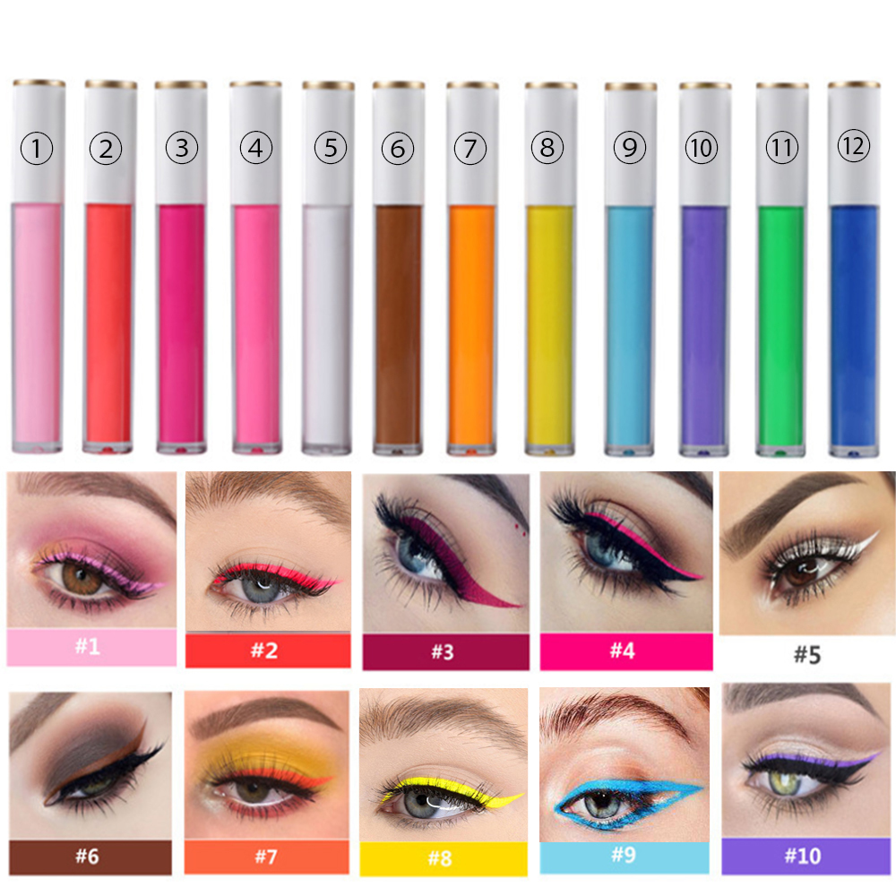 Hot Selling Liquid Eyeliner Pen Magic Adhesive Eyeliner Pen with New Glitter Package Form